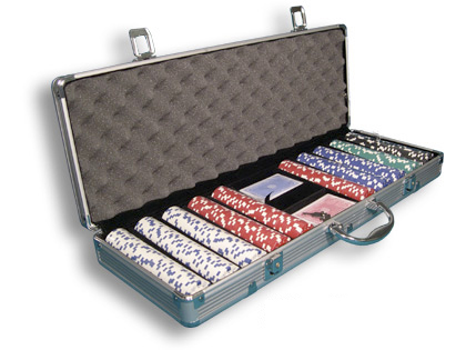 500 poker chip set - Poker Sets